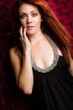 Όμορφη γυναίκα Redhead Στοκ φωτογραφία με δικαίωμα ελεύθερης χρήσης