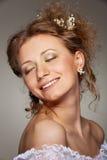 όμορφη γυναίκα smiley Στοκ Εικόνες