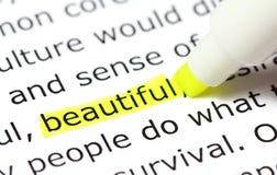 όμορφη διατύπωση highligh Στοκ φωτογραφίες με δικαίωμα ελεύθερης χρήσης