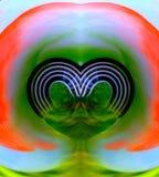Όμορφη εικόνα ταπετσαριών καρδιών, εικόνα ταπετσαριών υποβάθρου στοκ εικόνα
