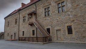Όμορφη εικόνα του κάστρου σε Sanok Στοκ Εικόνες