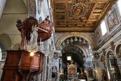 Όμορφη εκκλησία της Ρώμης στοκ φωτογραφία με δικαίωμα ελεύθερης χρήσης
