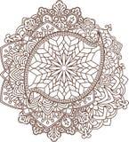 Όμορφη εκλεκτής ποιότητας διακόσμηση του Paisley, mandala Στοκ εικόνες με δικαίωμα ελεύθερης χρήσης