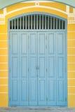 Όμορφη εκλεκτής ποιότητας πόρτα Στοκ Εικόνες