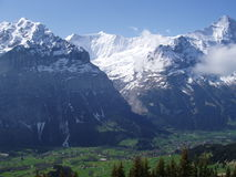 όμορφη Ελβετία Στοκ Φωτογραφία