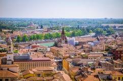 Όμορφη εναέρια άποψη της Βερόνα, Ιταλία Στοκ εικόνες με δικαίωμα ελεύθερης χρήσης