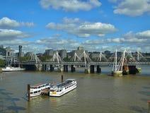 Όμορφη εναέρια άποψη του Λονδίνου στην Αγγλία στοκ εικόνες με δικαίωμα ελεύθερης χρήσης