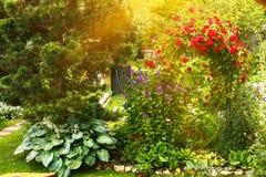 Όμορφη επίσημη στενή επάνω φωτογραφία κήπων στοκ εικόνες
