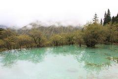 Όμορφη επιφύλαξη φύσης Huanglong SiChuan της Κίνας Στοκ Εικόνες