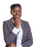 Όμορφη επιχειρηματίας από την Αφρική Στοκ Εικόνες