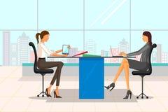 Όμορφη επιχειρηματίας στην εταιρική συνεδρίαση Στοκ Εικόνα