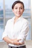 Όμορφη επιχειρηματίας στοκ φωτογραφία με δικαίωμα ελεύθερης χρήσης