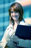όμορφη επιχειρησιακή γυναίκα στοκ εικόνα με δικαίωμα ελεύθερης χρήσης