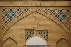 Όμορφη λεπτομέρεια του καθεδρικού ναού Vank, Ισφαχάν, Ιράν Στοκ Εικόνες