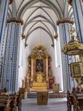 Όμορφη εσωτερική άποψη namen-Jesu-Kirche, εκκλησία του ιερού ονόματος του Ιησού στη Βόννη, Γερμανία στοκ εικόνα με δικαίωμα ελεύθερης χρήσης