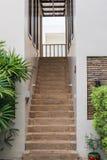 όμορφη εσωτερική μαρμάρινη σκάλα ντεκόρ Στοκ Φωτογραφίες