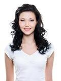 Όμορφη ευτυχής γυναίκα στοκ εικόνες με δικαίωμα ελεύθερης χρήσης