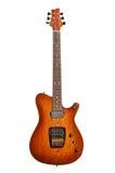 όμορφη ηλεκτρική κιθάρα Στοκ φωτογραφία με δικαίωμα ελεύθερης χρήσης