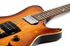 όμορφη ηλεκτρική κιθάρα Στοκ Εικόνα