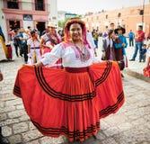Όμορφη ημέρα γυναικείου εορτασμού της Virgin του Guadalupe Dia δ Στοκ Εικόνες