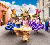 Όμορφη ημέρα γυναικείου εορτασμού της Virgin του Guadalupe Dia δ Στοκ φωτογραφίες με δικαίωμα ελεύθερης χρήσης