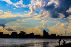 Όμορφη ημερομηνία στο Κίεβο Στοκ Φωτογραφίες