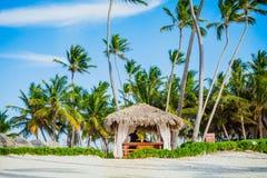 Όμορφη ηλιόλουστη ημέρα σε Punta Cana Στοκ Εικόνες