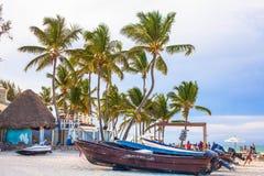 Όμορφη ηλιόλουστη ημέρα σε Punta Cana Στοκ εικόνα με δικαίωμα ελεύθερης χρήσης