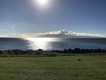 Όμορφη ηλιόλουστη ημέρα στους της Χαβάης χρόνους στοκ εικόνα
