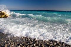 όμορφη θάλασσα ακτών στοκ εικόνες