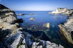 όμορφη θάλασσα βράχων Στοκ Εικόνες