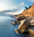 όμορφη θάλασσα τοπίων Στοκ φωτογραφίες με δικαίωμα ελεύθερης χρήσης
