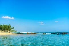 όμορφη θάλασσα παραλιών τροπική Στοκ Εικόνα