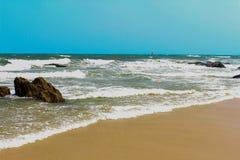 όμορφη θάλασσα παραλιών τροπική Στοκ Εικόνες