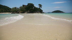 όμορφη θάλασσα παραλιών τροπική απόθεμα βίντεο