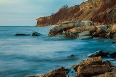 όμορφη θάλασσα τοπίων Σύνθεση της φύσης Στοκ φωτογραφίες με δικαίωμα ελεύθερης χρήσης