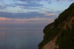 όμορφη θάλασσα τοπίων Στοκ Εικόνα