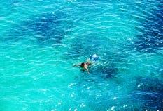 Όμορφη θάλασσα Τοπ όψη Στοκ φωτογραφία με δικαίωμα ελεύθερης χρήσης