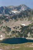 Όμορφη θερινή άποψη των λιμνών Vlahini, βουνό Pirin Στοκ φωτογραφία με δικαίωμα ελεύθερης χρήσης