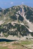 Όμορφη θερινή άποψη των λιμνών Vlahini, βουνό Pirin Στοκ Φωτογραφίες