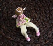 Όμορφη διακοσμητική κούκλα Στοκ φωτογραφίες με δικαίωμα ελεύθερης χρήσης