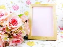 Όμορφη διακόσμηση και διάστημα λουλουδιών για το διάστημα για το γράψιμο Στοκ φωτογραφία με δικαίωμα ελεύθερης χρήσης