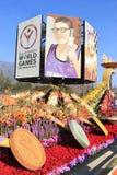 Όμορφη διακόσμηση των επιπλεόντων σωμάτων στη μετα παρέλαση των πρωταθλημάτων του Ρ Στοκ φωτογραφία με δικαίωμα ελεύθερης χρήσης