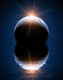 Όμορφη διαστημική σκηνή Στοκ φωτογραφία με δικαίωμα ελεύθερης χρήσης