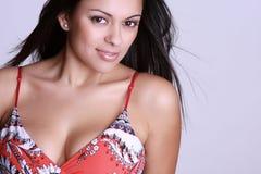 όμορφη ισπανική γυναίκα Στοκ εικόνες με δικαίωμα ελεύθερης χρήσης