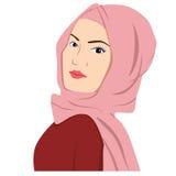 Όμορφη ισλαμική γυναίκα σε Hijab Στοκ φωτογραφίες με δικαίωμα ελεύθερης χρήσης
