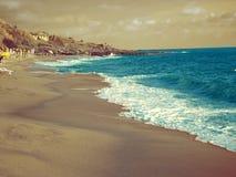 Όμορφη ιταλική παραλία Στοκ φωτογραφία με δικαίωμα ελεύθερης χρήσης