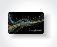 Όμορφη κάρτα δώρων Στοκ Εικόνες