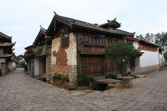 όμορφη Κίνα lijiang μικρού χωριού Στοκ φωτογραφία με δικαίωμα ελεύθερης χρήσης