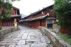 όμορφη Κίνα lijiang μικρού χωριού Στοκ Φωτογραφίες